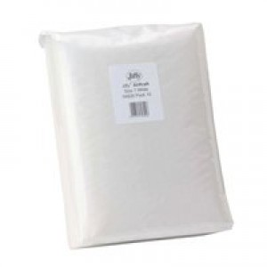 Jiffy Airkraft Postal Bags Bubble-lined Peel and Seal No.1 White 170x245mm Ref JL-AMP-1-10 [Pack 10]