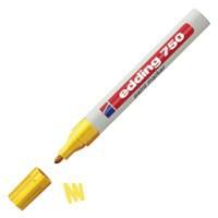 Edding 750 Paint Marker Opaque Bullet Tip Yellow 750-005