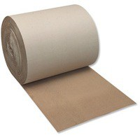 Corrugated Paper 100 percent Recycled Single Faced Roll 650mmx75m