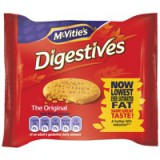 McVities Digestive Biscuits Wheatmeal Twinpack Pack 48 Code A06061