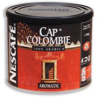 Nescafe Cap Colombie Instant Coffee Tin 500g Code A02036
