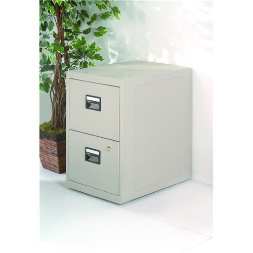 Sentry Fire-Safe Filing Cabinet 2 Drawer 80kg W438xD591xH711mm Ref SN6000