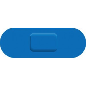 Wallace Cameron Blue Catering Plasters One Size 70x24mm Ref 1214025 [Pack 150]