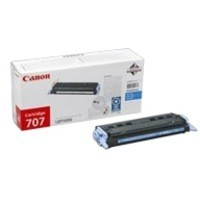 Canon 707 Laser Toner Cartridge Page Life 2000pp Cyan Ref 9423A004