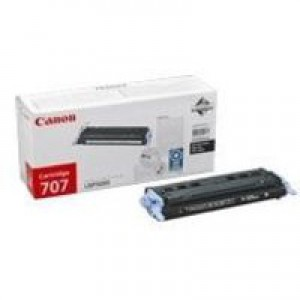 Canon 707 Laser Toner Cartridge Page Life 2500pp Black Ref 9424A004
