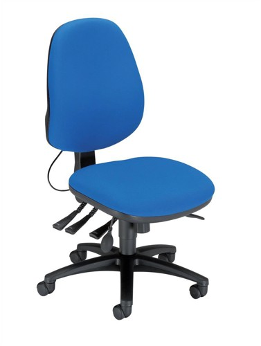 Sonix Jour J3 High Back Office Chair Seat W480xD450xH460-570mm Blue