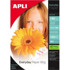 Apli Everyday Paper A4 180g Pk100 11475