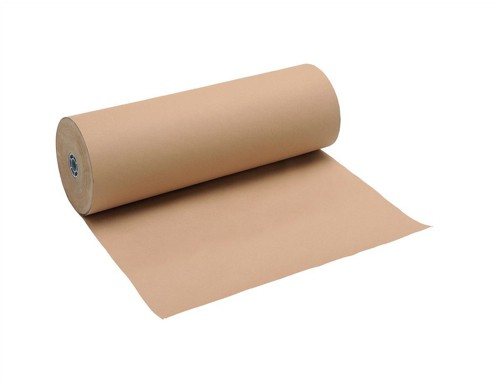 Counter Wrapping Paper Roll Pure Kraft 90gsm 900mmx225m