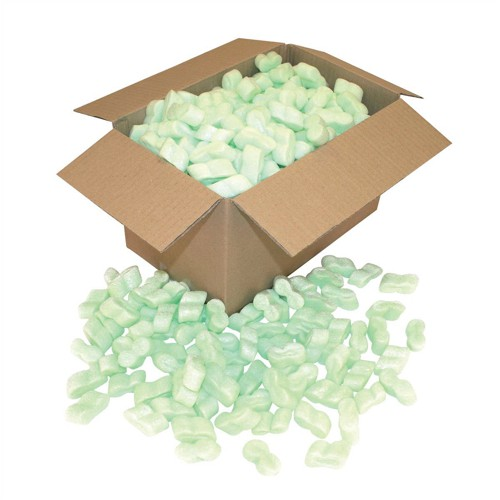 Loosefill S-shaped Recycled Biodegradable Polystyrene 0.425 cu m