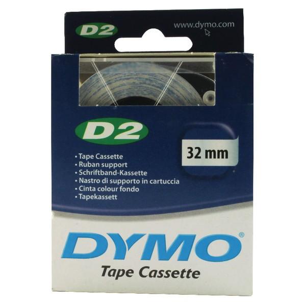 Dymo D2 Tape Cassette 32mmx10m White Ref 69321 S0721250