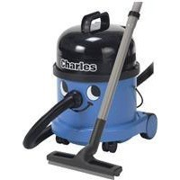 Numatic Charles Vacuum Cleaner Wet and Dry 1200W 15L Dry 9L Wet 7.1Kg W355xD355xH455mm Blue Ref A10X