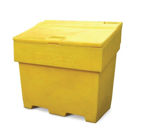 Bentley Grit and Salt Bin Polyethylene Capacity 350kg 200 Litres Weight 22kg Ref SPC/GRIT400