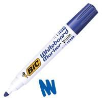 Image for Bic Velleda 1701 Whiteboard Marker Bullet Tip Line Width 1.5mm Blue Ref 1199170106 [Pack 12]