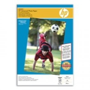 HP Advanced Glossy Photo Paper 250gsm A3 Pack 20 Code Q8697A