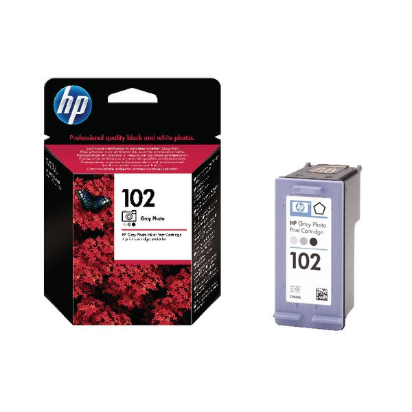 Hewlett Packard No102 Inkjet Cartridge Photo Grey C9360AE