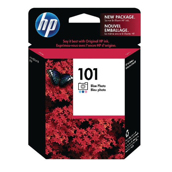 Hewlett Packard No101 Inkjet Cartridge Photo Blue C9365AE