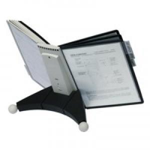 Durable Grey/Black Sherpa Desk Unit 10