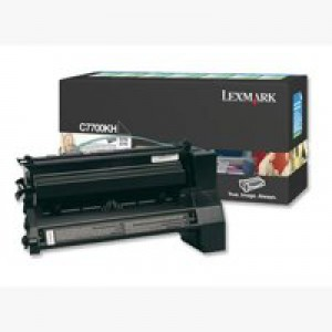 Lexmark C770 Return Programme High Yield Toner Cartridge Black C7700KH