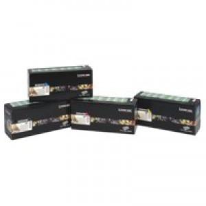 Lexmark C770 Return Programme High Yield Toner Cartridge Cyan C7700CH