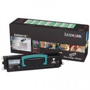 Lexmark Laser Toner Cartridge Return Program Page Life 6000pp Ref E450A11E