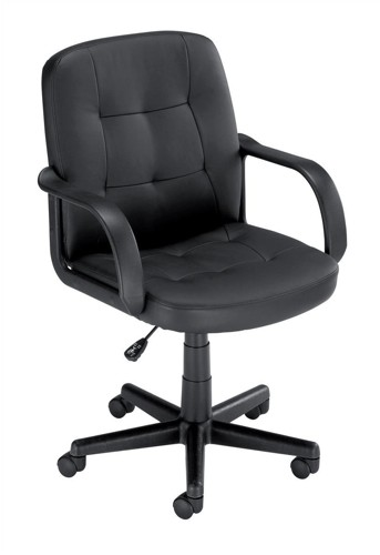 Influx Boss2 SoHo Managers Armchair Seat W470xD480xH430-550mm Backrest Height 470mm Black