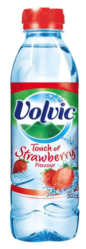 Volvic Touch Of Fruit Water Bottle 500ml Strawberry Ref 16438 [Pack 24]