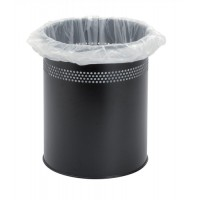 Image for 5 Star Bin Liners Office 28 Gauge 381x610x610mm White Ref  [Pack 1000]