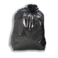 Image for 5 Star Black Bin Liners Med Duty Pk200
