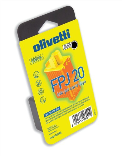 Olivetti FPJ20 Inkjet Cartridge Monobloc Printhead Page Life 500pp Black Ref B0384