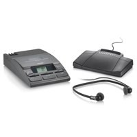 Philips Transcription Kit of Machine 155 Power Supply 234 Headset and 210 Foot Control Ref LFH720T