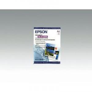 Epson Photo Quality Inkjet Paper Matt 104gsm Max.1440dpi A4 Ref S041061 [100 Sheets]