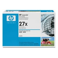 Hewlett Packard [HP] No. 27X Laser Toner Cartridge Page Life 10000pp Black Ref C4127X