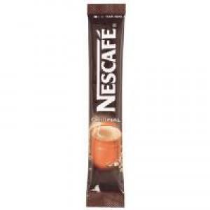 Nescafe Original Instant Coffee Granules Stick Sachets Ref 12079838 [Pack 200]
