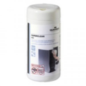 Durable Superclean 100 Wipes White Code 5708/02