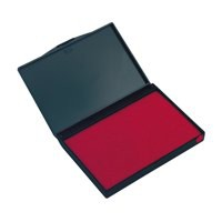 Dormy Stamp Pad 158x90mm Red Ref 419517SP