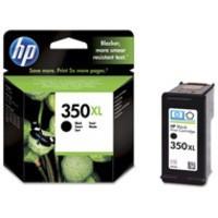 Hewlett Packard [HP] No. 350XL Inkjet Cartridge Page Life 1000pp Black Ref CB336EE