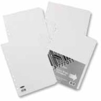 Concord Subject Divider A4 Extra-Wide for Punched Pocket 5-Part 77701/77