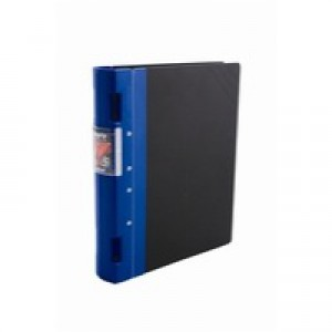 Guildhall GL Ergogrip Binder Capacity 400 Sheets 4x 2 Prong 55mm A4 Blue Ref 4509Z [Pack 2]