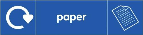 SS Bin Sticker Paper BS001