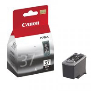 Canon PG-37 Black Inkjet Cartridge Code 2145B001