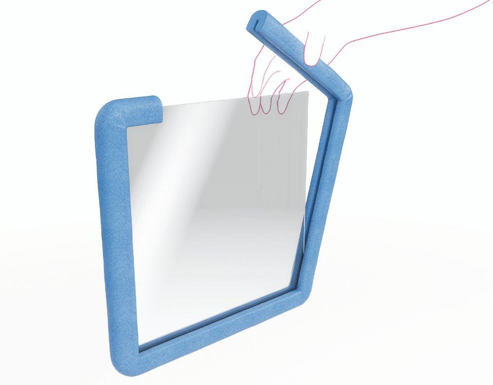 Foam Profile Ufix Tulip 45mm X 2000mm Blue 12mm Thickness Pack 1