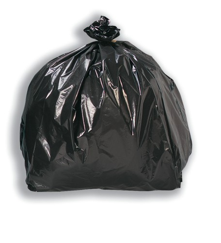 5 Star Economy Black Sacks 100g Pk200