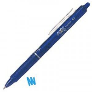 Pilot Frixion Clicker Retractable Rollerball Pen 0.7mm Blue 229101203