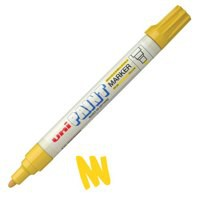 Uni Paint Marker Med Px20 Yell 124362000