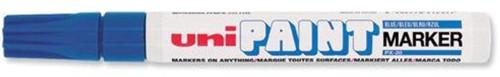 uni Paint Marker Bullet Tip Medium Point Px20 Line Width 2.2-2.8mm Blue Ref 9001923 [Pack 12]