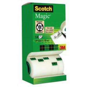 Scotch Magic Tape 12 rolls with 2 FREE rolls 19mmx33m Ref 81933R14