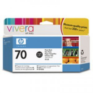 Hewlett Packard No70 Inkjet Cartridge 130ml Photo Black C9449A