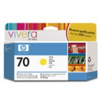 Hewlett Packard No70 Inkjet Cartridge 130ml Yellow C9454A