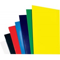 Image for GBC Binding Covers Plain 250gsm A4 Gloss White Ref CE020071 [Pack 50x2]