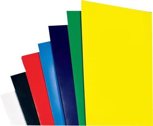 GBC Binding Covers Plain 250gsm A4 Gloss White Ref CE020071 [Pack 50x2]